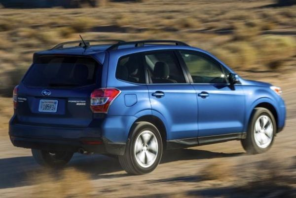 2015 - Subaru Forester Side and Rear View