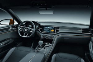 2015 Volkswagen Cross Blue Coupe Interior