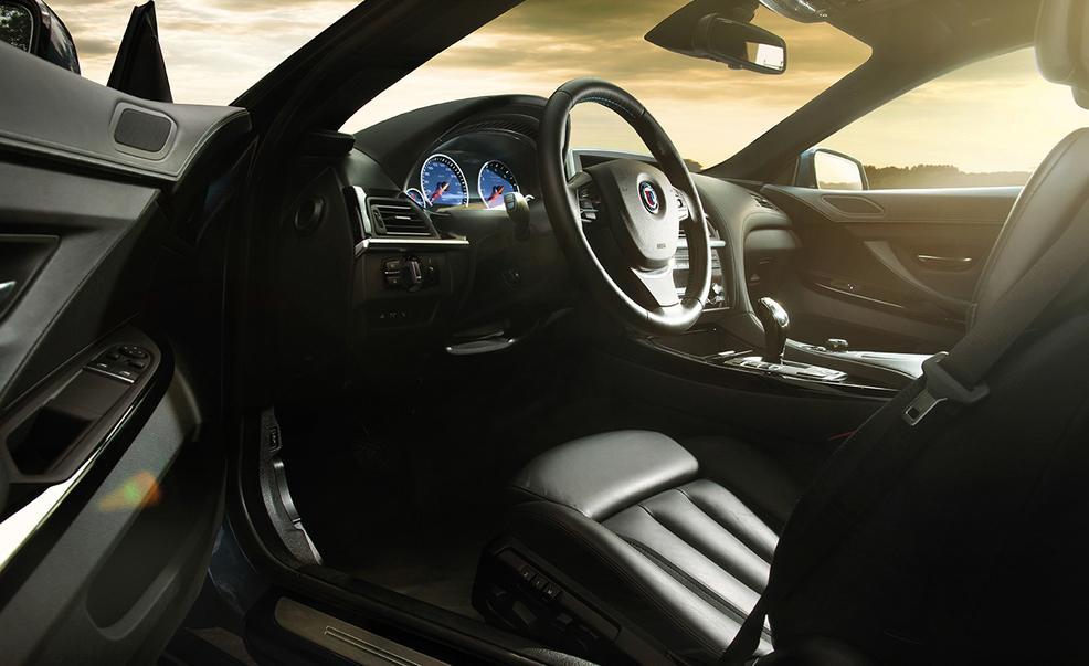 2015 BMW Alpina B6 Bi-Turbo Gran Coupé interior