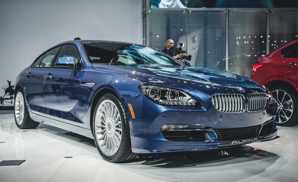 2015 BMW Alpina B6 Bi-Turbo Gran Coupé front