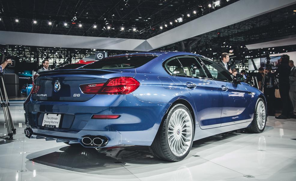 2015 BMW Alpina B6 Bi-Turbo Gran Coupé rear view