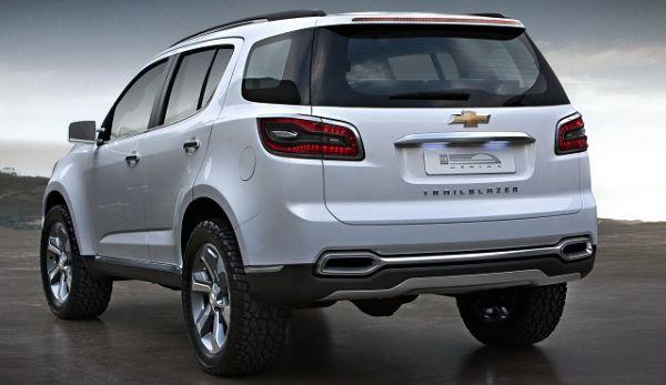 2016 - Chevrolet Trailblazer Rear View