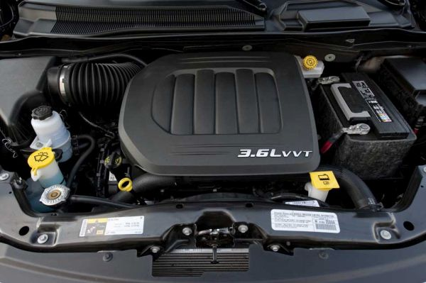 2016 Chrysler Town & Country Engine