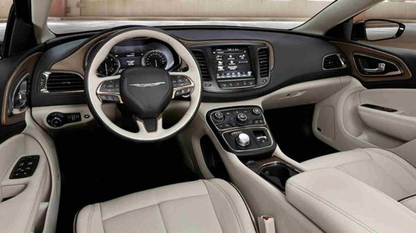 2016 Chrysler Town & Country Interior
