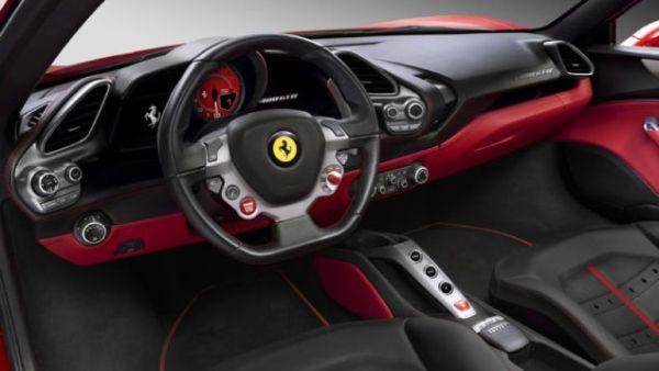2016 Ferrari - 488 GTB Interior