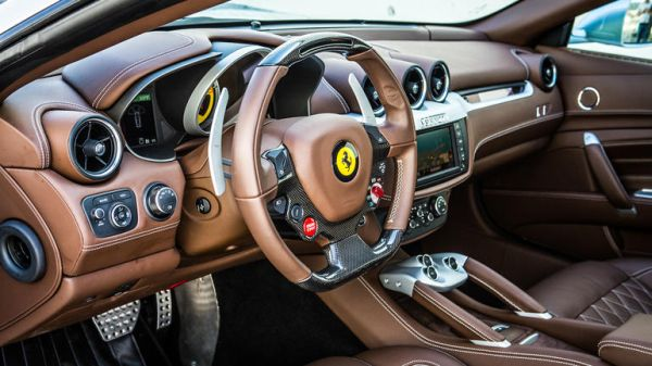 2016 Ferrari FF Coupe Interior