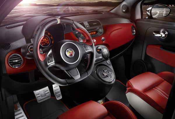 2015 Abarth 595 Competizione Convertible Interior 2017