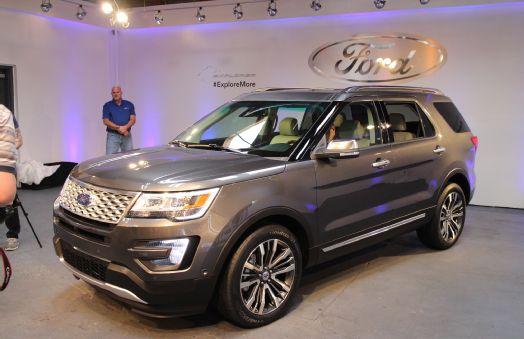 2016 ford explorer sport suv review interior msrp pics - Ford explorer exterior dimensions ...