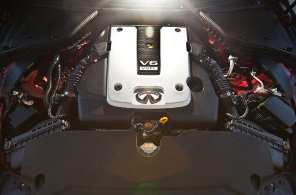 2016 Infiniti Q60 Concept Engine