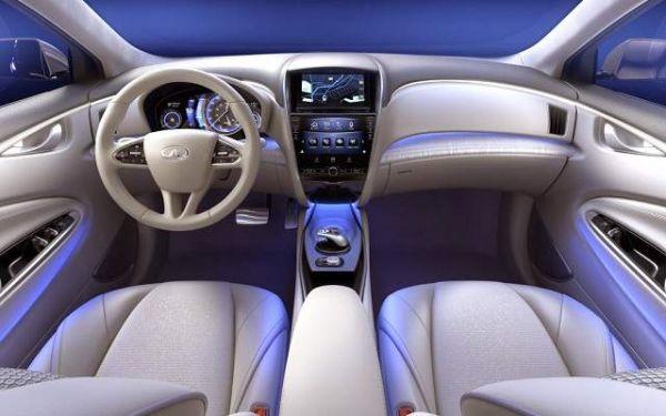2016 Infiniti Q60 Concept Interior