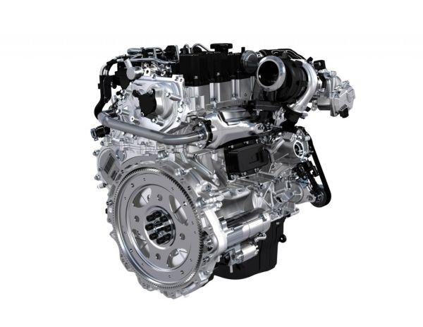 2016 Jaguar XE S Engine
