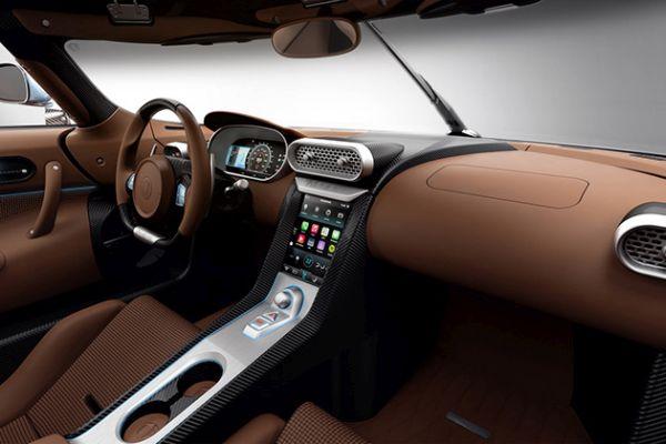 Koenigsegg Regera 2016 Interior