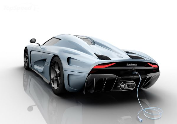 Koenigsegg Regera 2016  Rear View