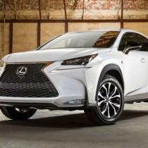 2016 - Lexus NX Front