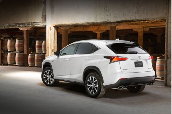 2016 - Lexus NX Rear View