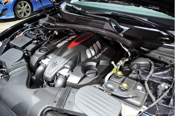 2016 - Maserati Quattroporte Engine