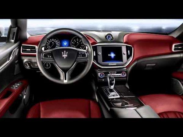 2016 - Maserati Quattroporte Interior
