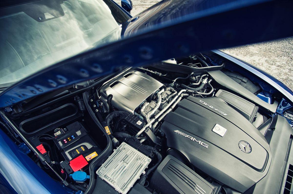 2016 Mercedes-AMG GT S engine