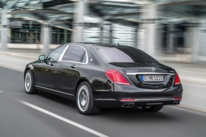2016 Mercedes Maybach S600 Exterior