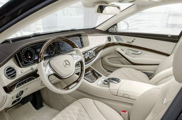 2016 - Mercedes Maybach S600 Interior