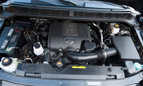 2016 Nissan Armada Engine
