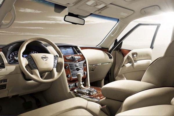 2016 Nissan Armada Interior