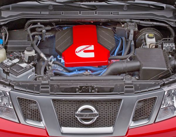 2015 - Nissan Frontier Engine