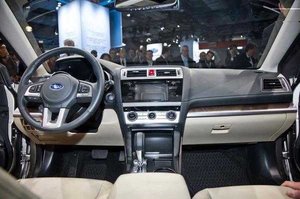 2016 Subaru Tribeca Interior