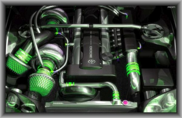 2016 - Toyota Supra Engine