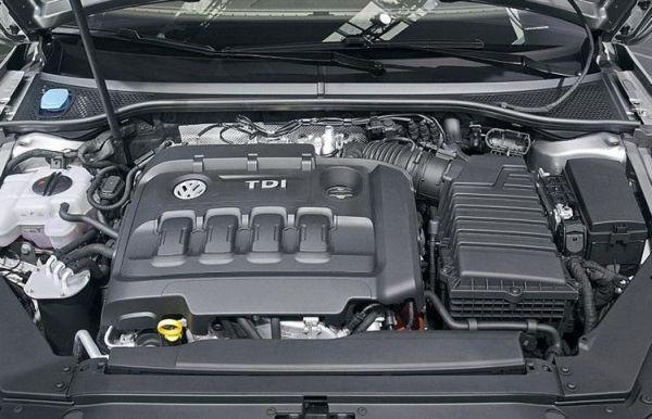 2016 Volkswagen Passat Engine