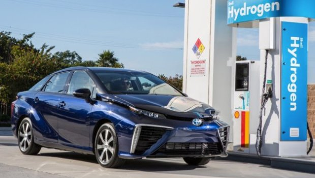 Toyota's Mirai Hydrogen Fuel-Cell Cars