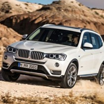 2017 - BMW X3 Front view