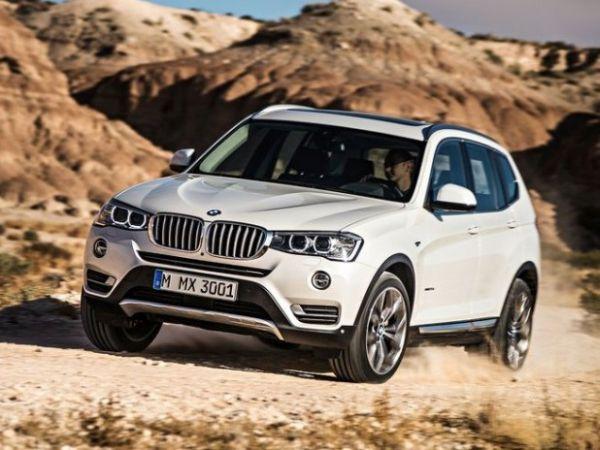 2017 - BMW X3