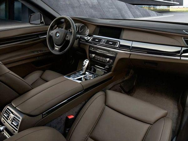 2017 - BMW X7 Interior