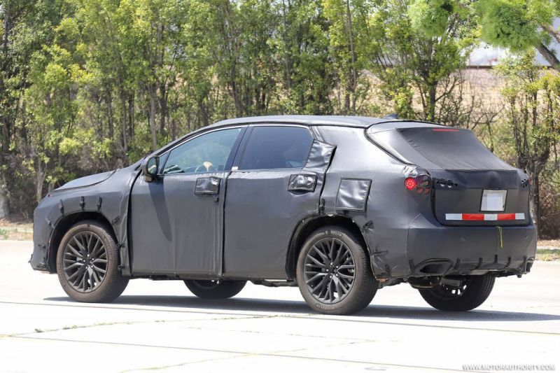 2017 Lexus Rx 350 450h Redesign Spy Shots 3rd Row