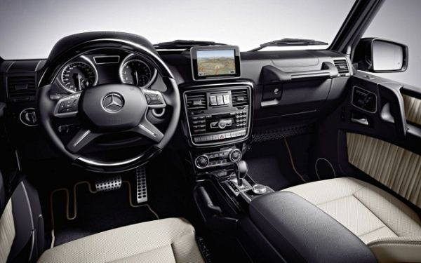 2017 - Mercedes Benz G Class Interior