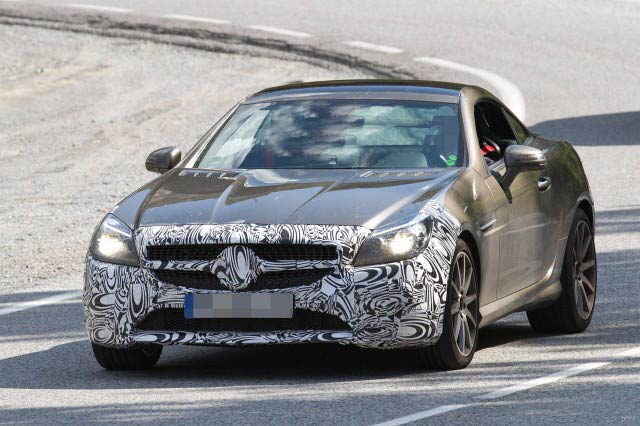 2017 Mercedes-Benz SLC spy shots