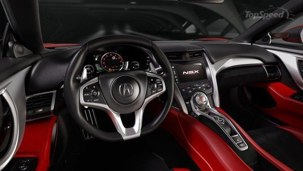 2018 - Acura NSX Type R Interior
