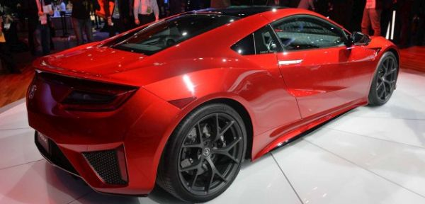 2018 - Acura NSX Type R Side View