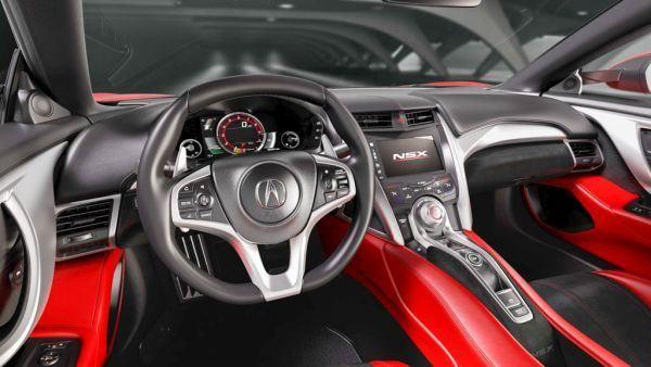 2017 Acura NSX - Interior