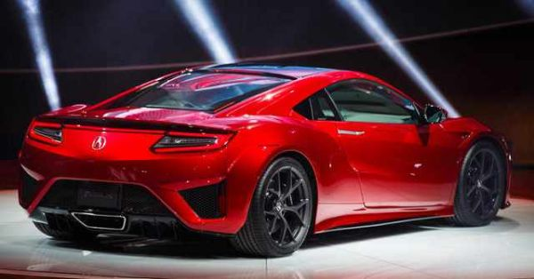 2017 Acura NSX - Rear View