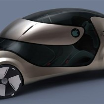 2020 Apple iMove Electric Car Concept