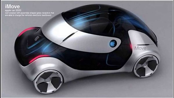 2020 Apple iMove Electric Car Concept