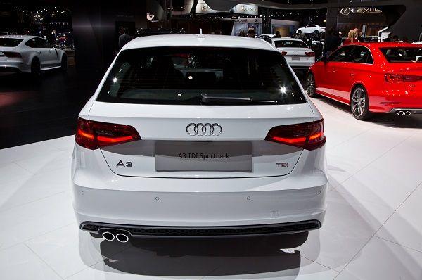 Audi A3 2017 - Rear View