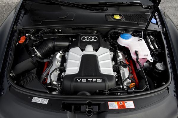 2017 Audi A6 - Engine