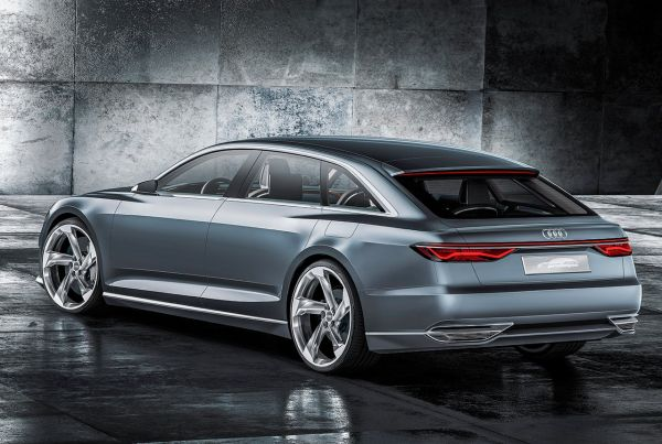 2017 Audi A6 - Rear View