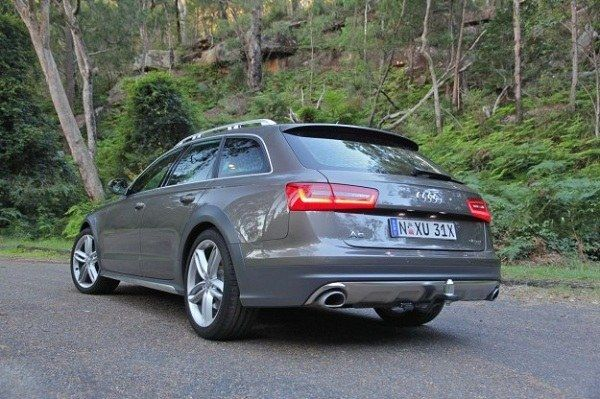 2016 Audi A6 Allroad - Rear View