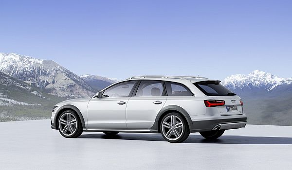 2016 Audi A6 Allroad - Side View