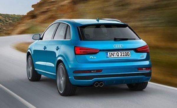 Audi Q3 2016 - Rear View