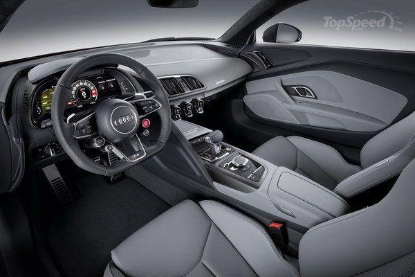 Audi R10 2016 Interior